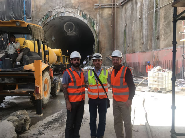 Tunnel Survey in Saudi Arabia with Aplitop Point Cloud and CAD Software