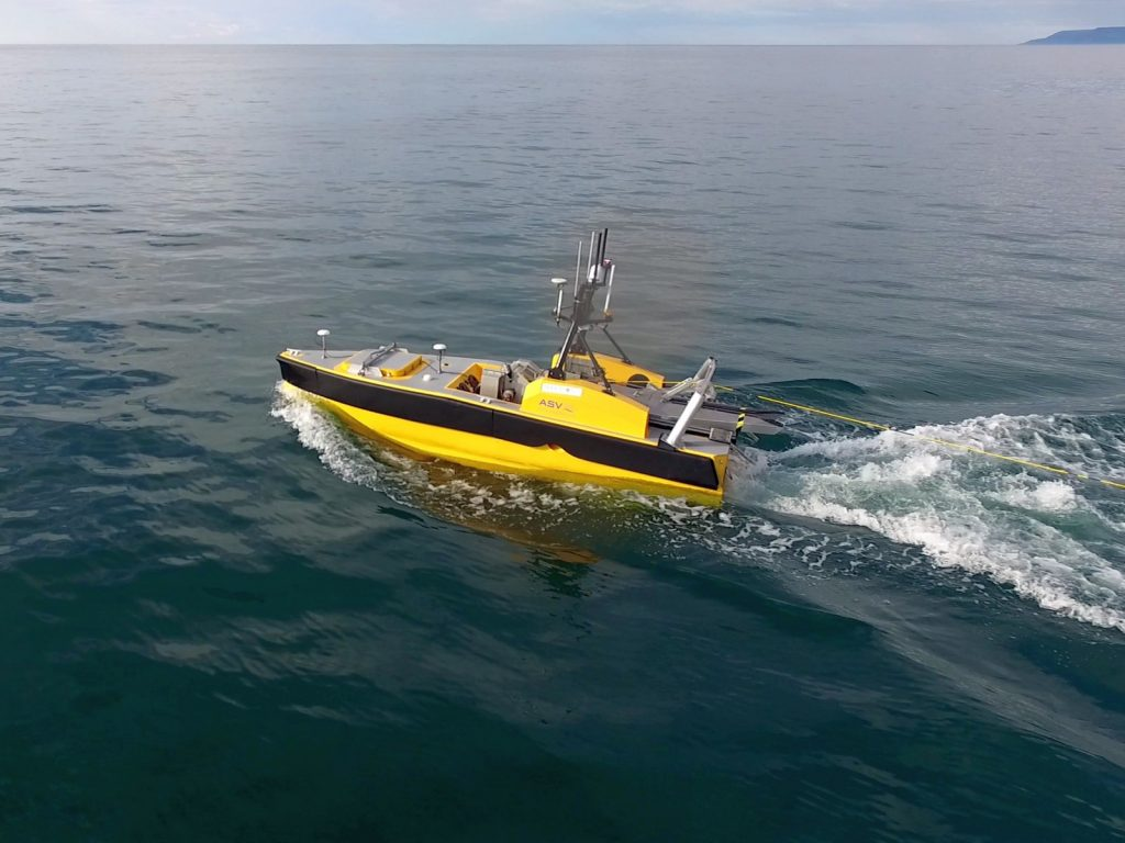 Offshore Hydrographic Survey With Unmanned Surface Vehciles