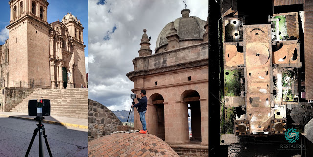 Earthquake Deformation Check in Peru with Laser Scanning and Point Cloud Processing Software