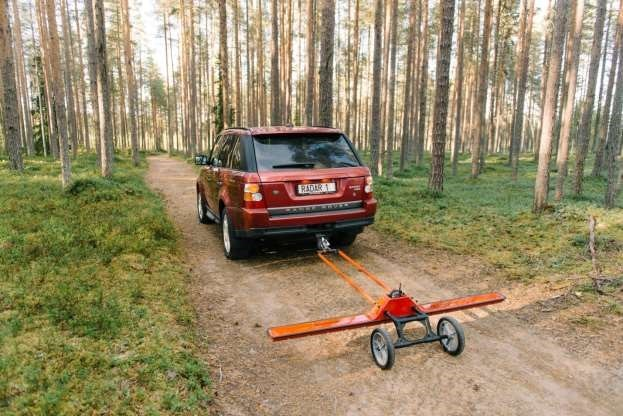 Towed Car Finder >> New Approach To Use Ground Penetrating Radar Gpr