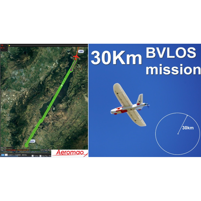 Demonstrated BVLOS capabilities