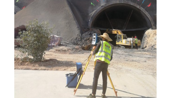 FOCUS 35 Total Station with Auto Scan Helping Build China's Expressway Network