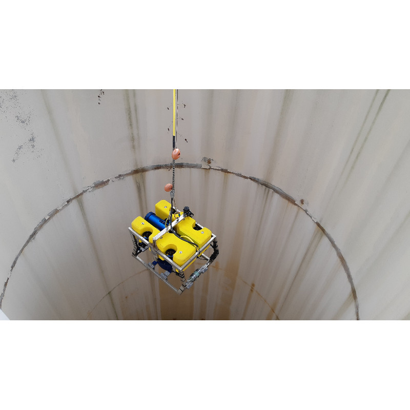 REINFORCED UMBILICAL CABLE FOR WELL INSPECTION WITH A 50KG ROV