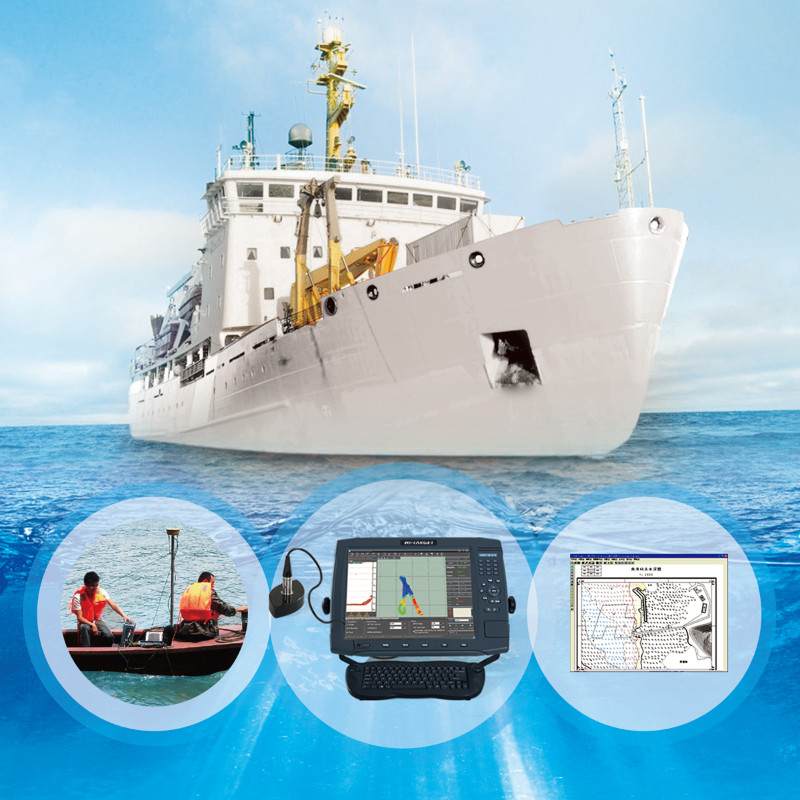 HD-MAX is a full-digit echo sounder for precision measurement in hydrology, reconnaissance, fairway, wharf dredge and so on.