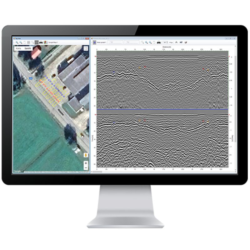 ImpulseRadar CrossPoint – Visualisation Software
