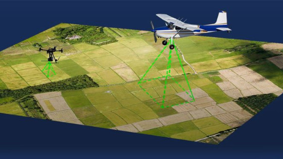 Aerial Surveying with a Manned Aircraft or UAS for Mapping and 3D Modelling?