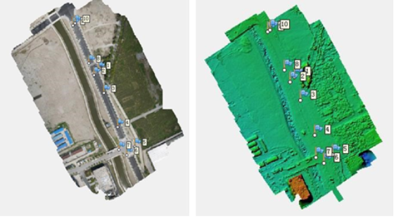 Aerial Surveying with GNSS RTK PPK System