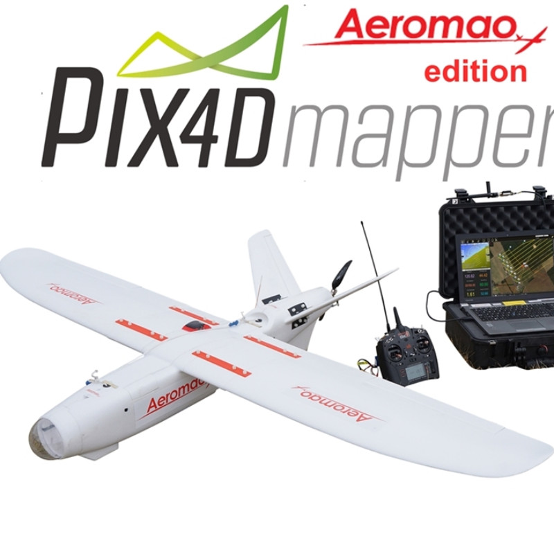 The Aeromapper Talon is available with a wide range of options of sensors, cameras and software packages.