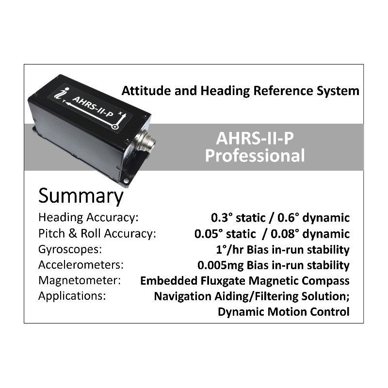 Inertial Labs AHRS – Attitude & Heading Reference Systems