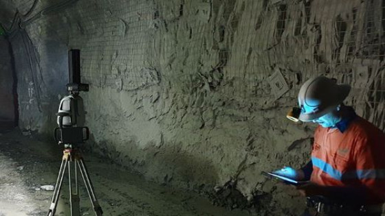 All-in-one Underground Survey, Geological Mapping and Geotechnical Analysis Laser Scanning Solution