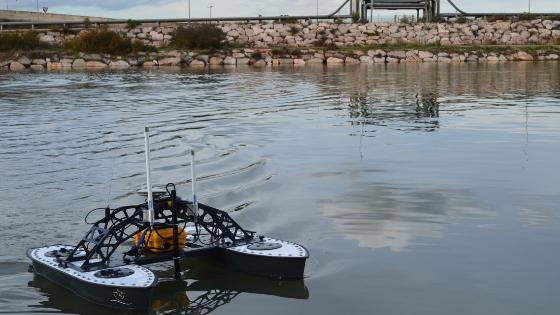 Bathymetric Survey of a Large Shallow River Section, Port of Tarragona