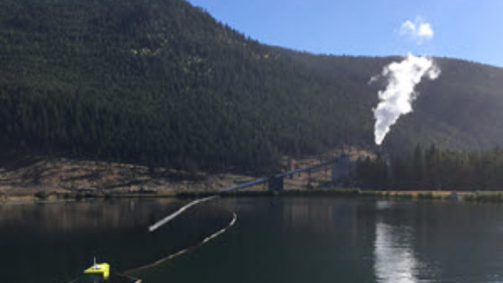 CEE-USV Mine Site Surveying in British Columbia, Canada