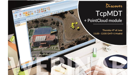 4 June  - Webinar: Discover Aplitop TcpMDT + Point Cloud Module