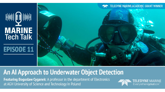 Episode 11 - Marine Tech Talk - An AI Approach to Underwater Object Detection