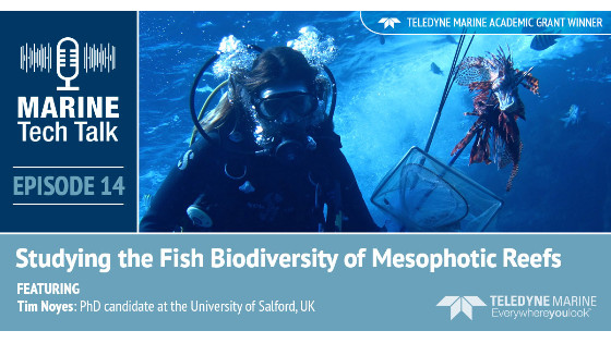 Episode 14 - Marine Tech Talk - Studying the Fish Biodiversity of Mesophotic Reefs