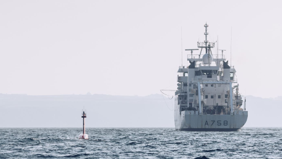 French Navy Tests DriX Hydrographic Unmanned Surface Vessel