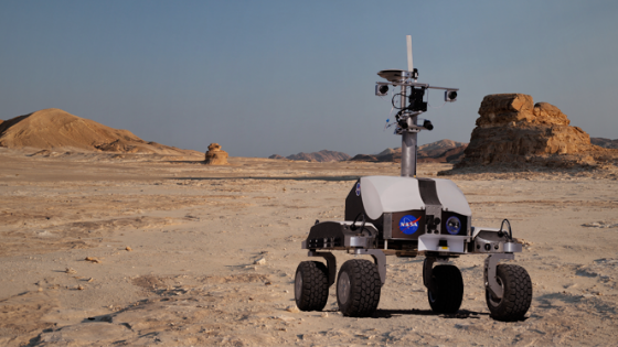 GNSS Receiver for NASA's MARS Unmanned Robotic Vehicle