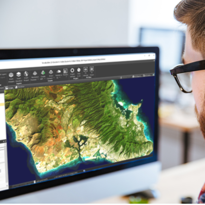geographically accurate terrain database can be made available to local TerraExplorer clients or published to remote clients (using the SkylineGlobe Terrain service.