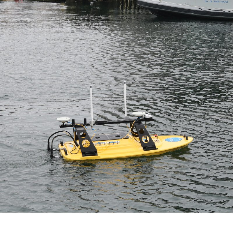 Z-Boat 1800 RP performing a remote survey