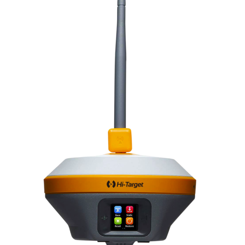 iRTK5 is the new high quality GNSS receiver of Hi-Target, benefiting from the next-generation GNSS engine, supporting the PPP service. It has full band support for cellular mobile networks (LTE, WCDMA, EDGE,GPRS,GSM), and supports most of the radio protocols on an internal UHF transceiver radio.  iRTK5 has an innovative designs, a magnesium alloy structure and the Linux 3.2.0 operating system. The HD OLED color touch screen has a better display, and operates in rain. iRTK5 is an industry-leading GNSS RTK surveying solution.