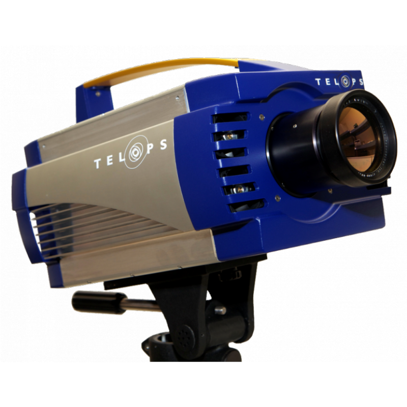 Telops' MS-IR is a multispectral camera equipped with an 8-position fast-rotating filter wheel.