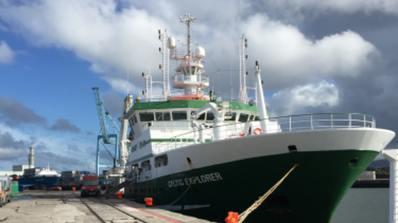 INFOMAR – Deployment of Moving Vessel Profiler for Enhanced Oceanographic and Hydrographic Quality Control