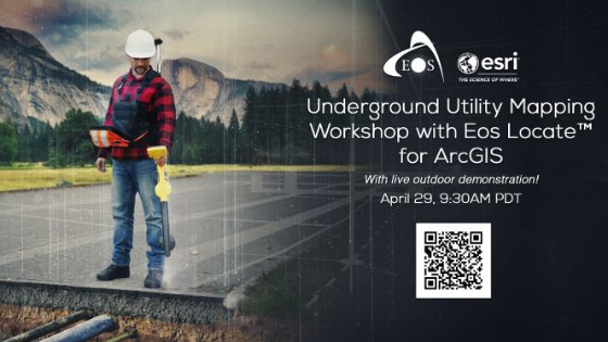 Underground Utility Mapping Workshop with Eos Locate™ for ArcGIS Field Maps (with live outdoor demonstration)