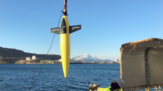 Mapping The Norwegian Seafloor with Kongsberg Seaglider AUV (Autonomous Underwater Vehicle)