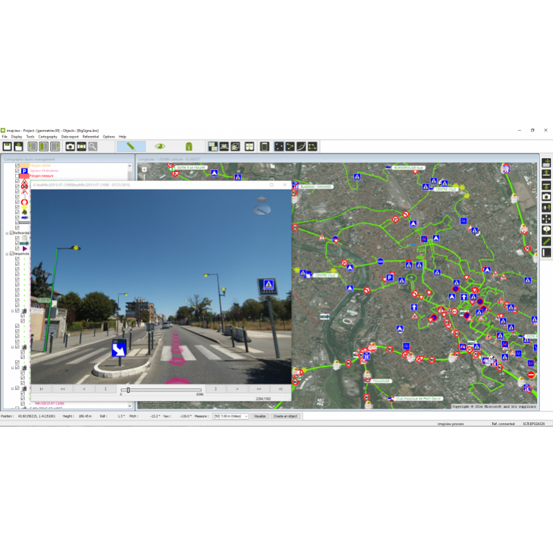 imajview® - GIS data production and photogrammetry