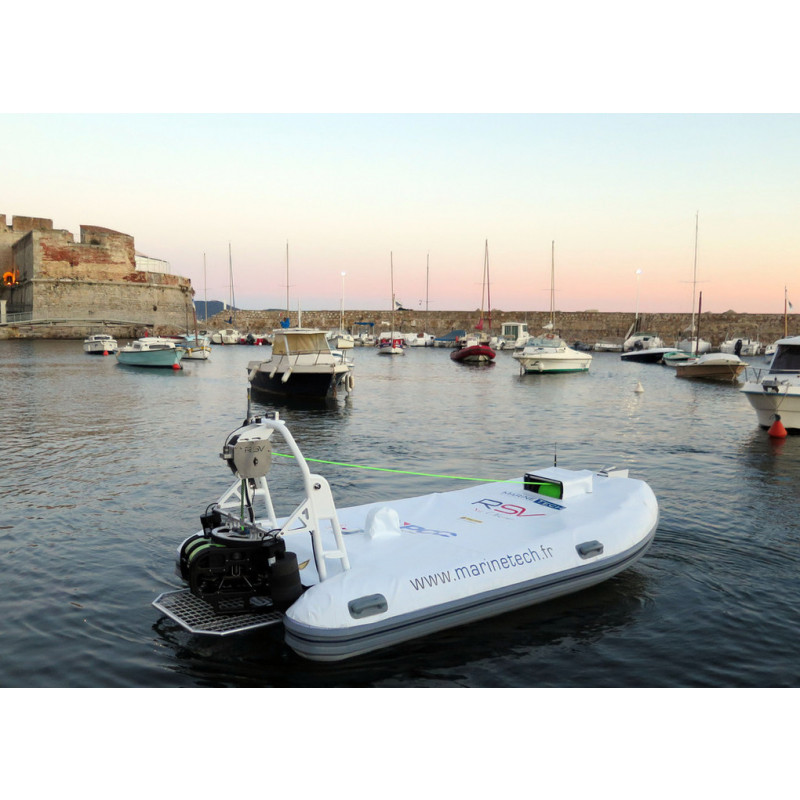 Marine Tech RSV Sea Observer - USV with ROV