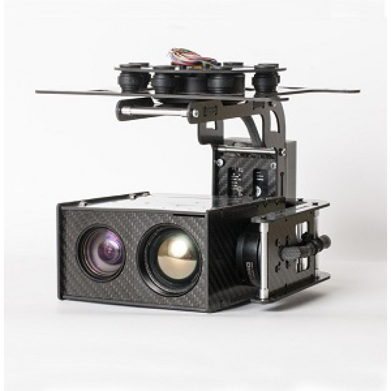 USG - 302 Multi Sensor 3-Axis Gyro-Stabilized Gimb