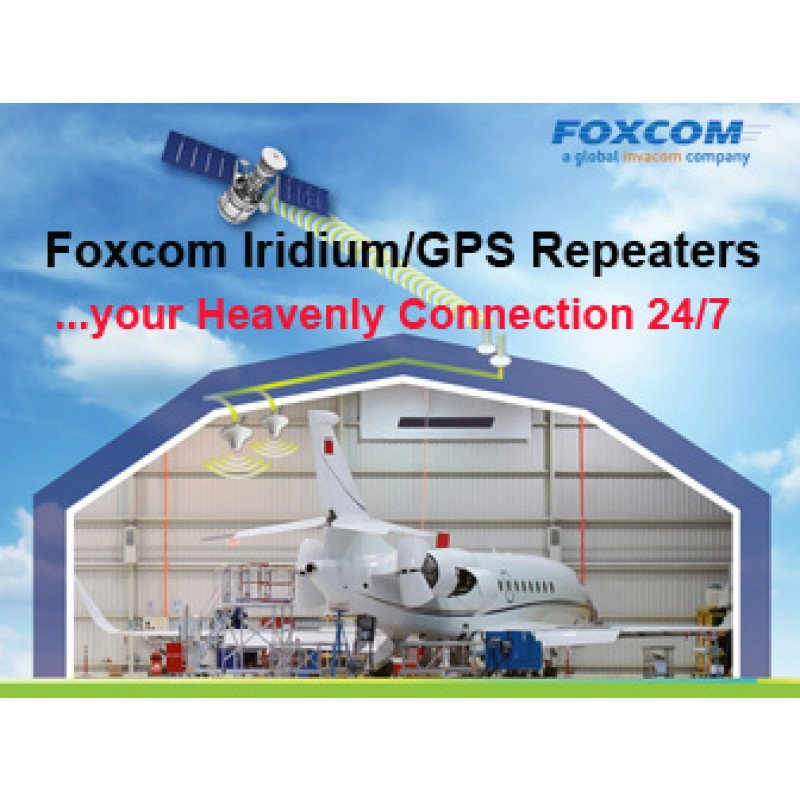 Foxcom GPS/GNSS Repeater Solutions