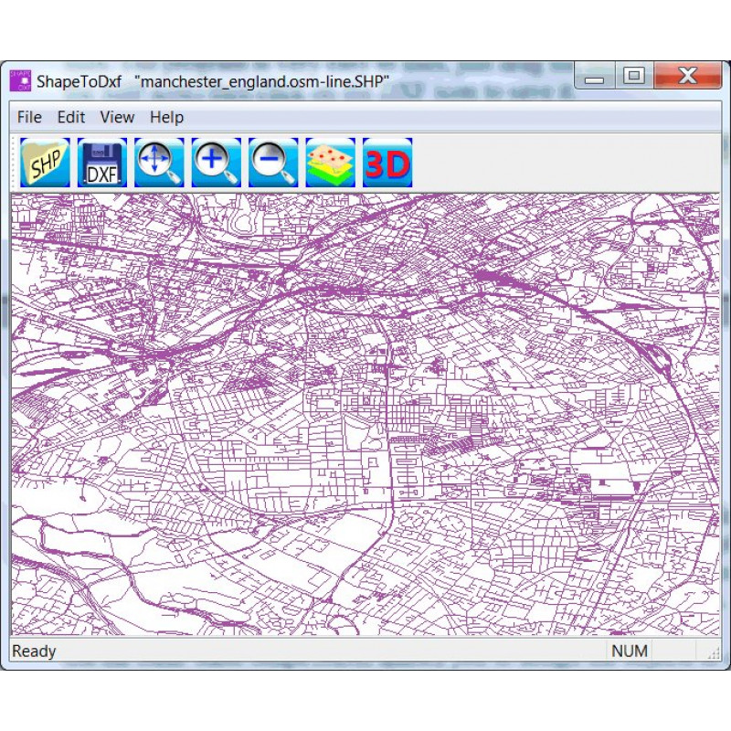 Ransen Software Shape To Dxf | Geo-matching com