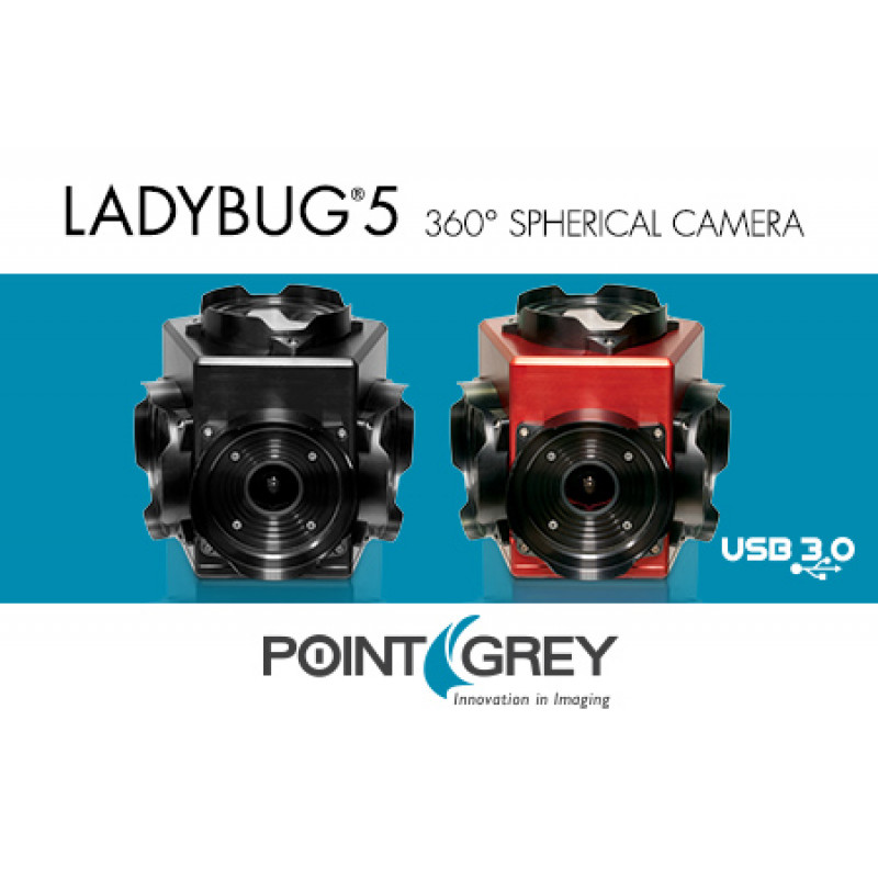 Ladybug5 - 30 MP, 360 Video Streaming