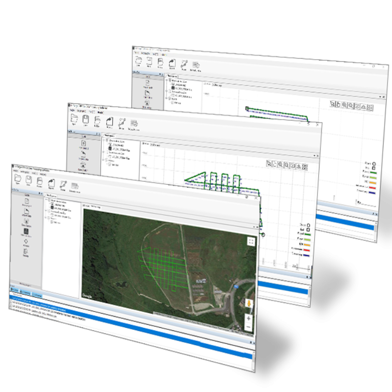 Photogrammetric mapping or 3D Survey software