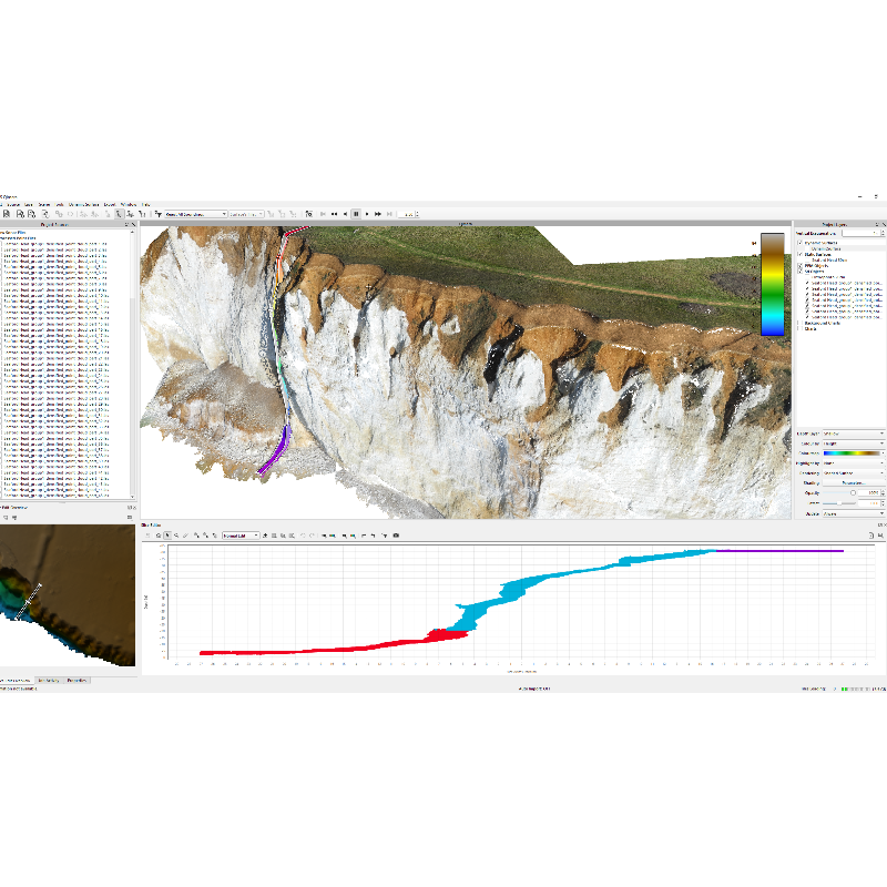 QPS Qimera for Drone or TLS point cloud post processing