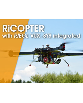 RIEGL RiCOPTER with VUX-SYS | Geo-matching com