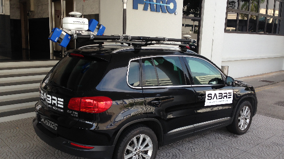 SABRE-SCAN™ Integration with Applanix OEM Boards Redefines Mobile Mapping