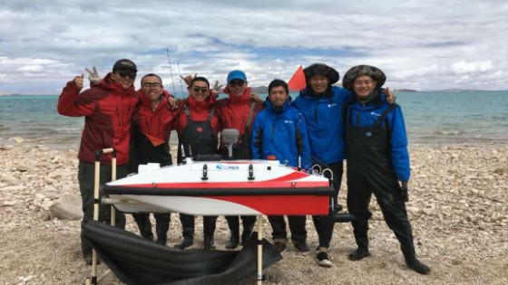 Scientific Investigation on the Tibetan Plateau with USV, Drone and Other New Technologies