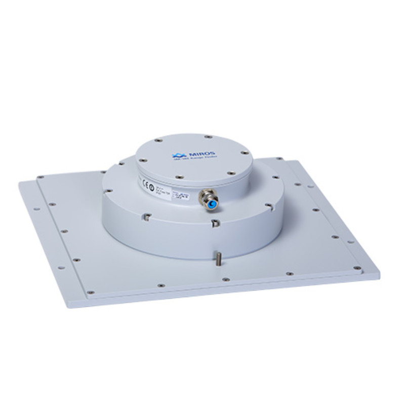 The Miros RangeFinder, a vertical microwave radar providing sea level, tide, non-directional wave monitoring, ride control and air gap measurements