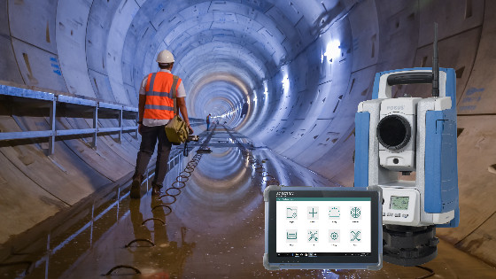 SPECTRA GEOSPATIAL and APLITOP collaborate on Tunneling Survey Solution