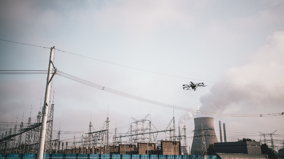 Suspending Power Lines Using Neo Drone