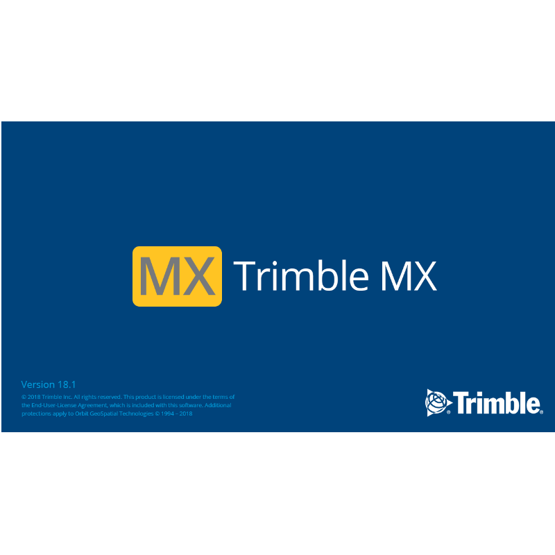 Trimble MX software suite