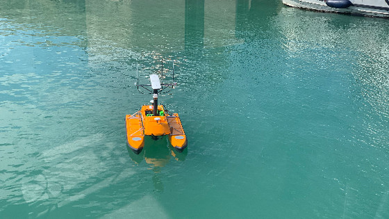 OceanAlpha And Kongsberg Unite To Deliver A Portable USV Hydrographic System